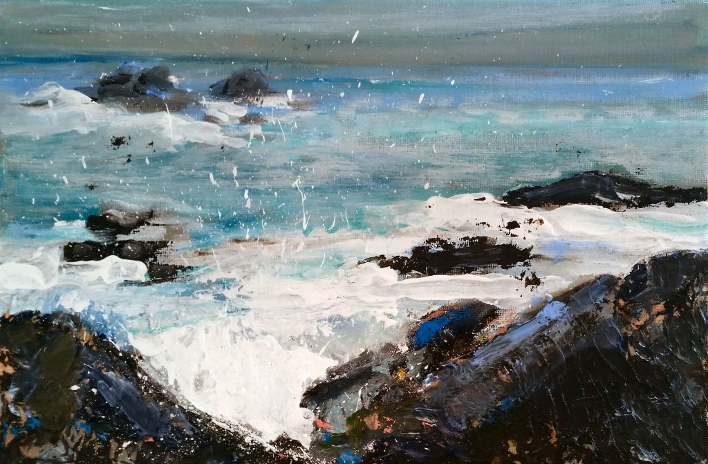 Painting of Cape Cornwall