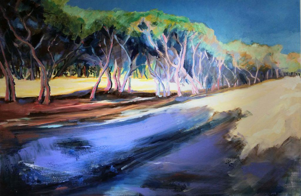 Painting of Spanish Grove
