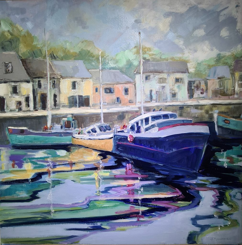 Painting of Padstow Harbour