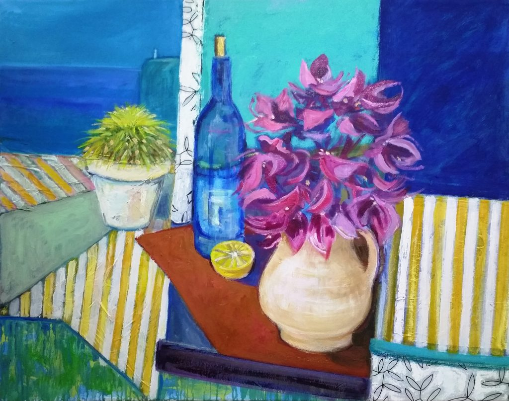 Painting of Spanish Still Life