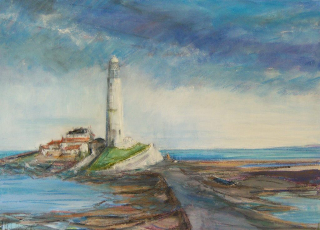 Painting of St Mary\'s Island