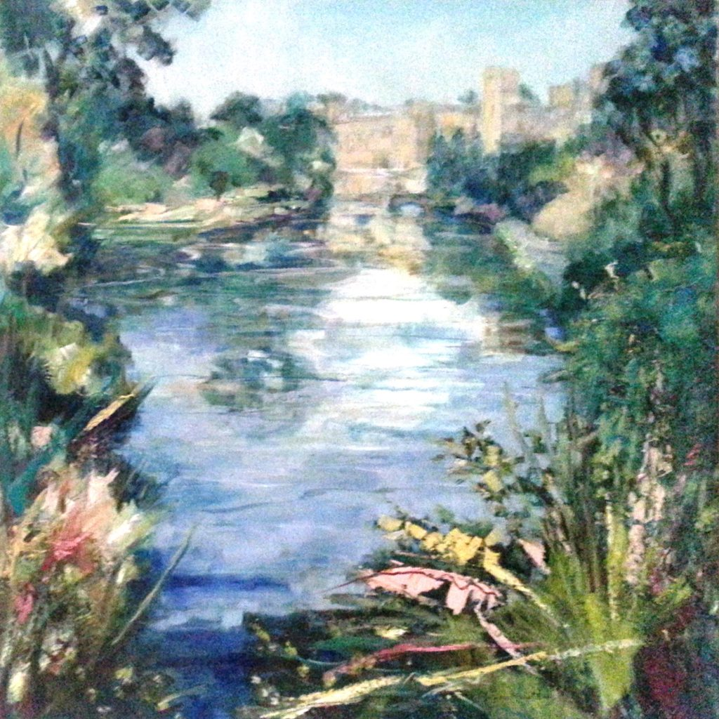 Painting of Warwick Castle